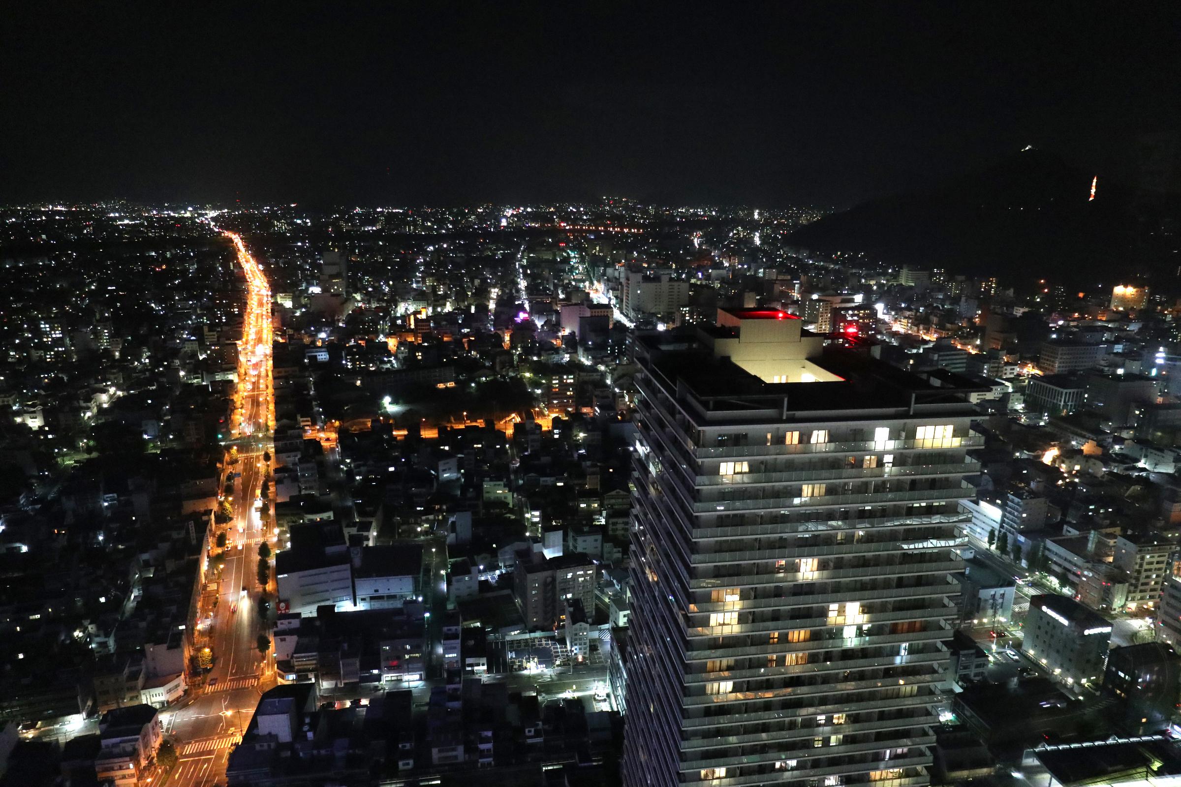岐阜シティタワー43の夜景